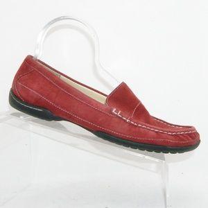 AK Anne Klein Slip and Slide burgundy loafers 10M